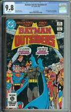 Batman and the Outsiders #1 CGC 9.8 2nd App Katana