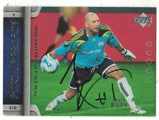 2007 Upper Deck MLS Soccer Matt Reis New England Revolution Autograph COA