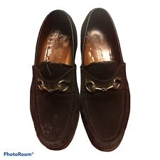 Gucci Womans Vintage Bown Loafers 7B
