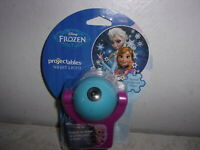 Disney Frozen Projectables Plug-In LED Night Light Automatic On Off Anna Elsa