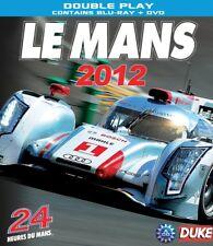 LE MANS 2012 REVIEW Audi R18 E-Tron Quattro TDI 3.7L V6 Turbo Hybrid BLU-RAY+DVD