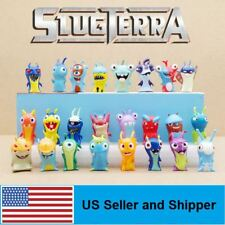 24pcs Slugterra Mini PVC Action Figures Collection Toys Dolls Kids Gift Cartoon