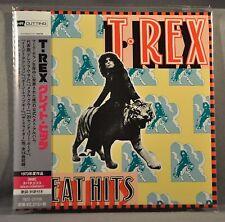 T. REX Great Hits JAPAN Mini LP CD HR Cutting NEW TECI-25705 2015 OOP 14 Tracks