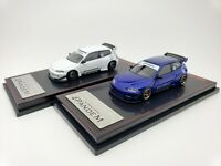1:64 Ignition Honda Civic EG6 PANDEM JDM White IG1415/Blue IG1412 Japan Limited