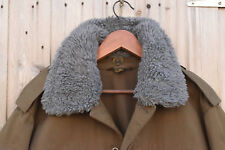 CZECH ARMY M85 COLD WEATHER FIELD JACKET (w/Wool Collar) - Large .