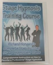 Complete Stage Hypnosis Training Course Richard Nongard 8 DVD Master Hypnotism