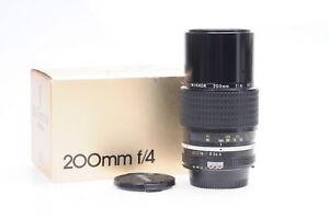 Nikon Nikkor AI 200mm f4 Lens #826
