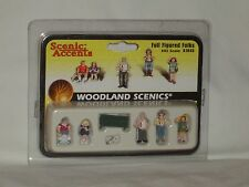 Woodland Scenics Scenic Accents Full Figured Folks #A1845 HO Scale