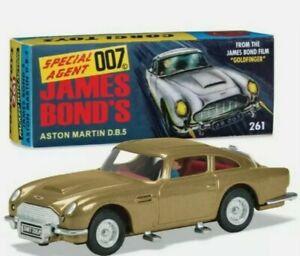 BOXED Corgi 261 James Bond DB5 1965 - 1969 Re-issue RT26101