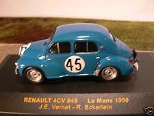 1/43 Ixo renault 4cv #45 le mans 1950