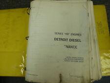 Detroit Diesel 110 Series 6-110 Engine Shop Service Repair Manual