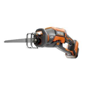 New Ridgid R86448B 18-Volt OCTANE Brushless One-Handed Reciprocating Saw