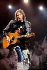 Neil Young Guitar Lights Poster 24x36""