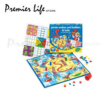 Pirate Snakes and Ladders & Ludo Game - Orchard Toys