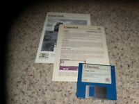 Uninvited Commodore Amiga Game with manual and quick reference card