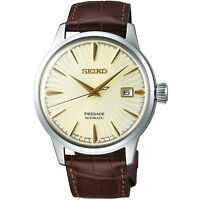 SEIKO Presage SRPC99J1 Cocktail Golden Champagne Japan Made Watch INT'L WARRANTY
