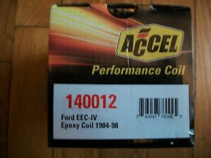 Ignition Coil-SuperCoil Accel 140012 ford