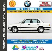 Manual de Taller BMW Serie 3 (E30) 1984-1992