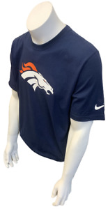 Nike Men's Denver Broncos Willis McGahee #23 Navy NFL Football Shirt Size XL