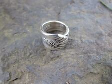 Vintage Estate Imperial Silver Company Spoon Ring Size 5.5 with Hallmark I S