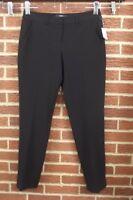 NEW $148 Tahari Womens Alanis Dress Pants Sz 6 Black Slacks Business Suit NWT