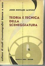 Teoria e tecnica della sceneggiatura-J.Howard Lawson-1951