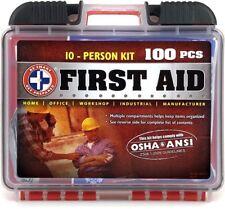 Kit De Primeros Auxilio Casos Emergencia Diez Personas Casa Trabajo Escuela