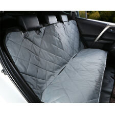 Pet Rear Back Seat Cover Oxford Dog Car Protector SUV Auto Bench Mat Grey US
