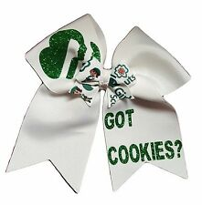 Got Cookies! Girl Scouts Hair Bow Double Bows
