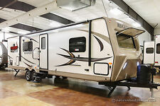 2017 Rockwood Ultra Lite 2902WS Rear Kitchen Travel Trailer Used Nearly New