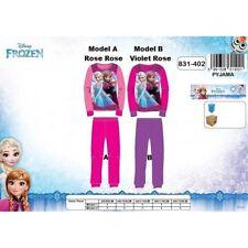 4 ans (104cm) ROSE rose (Model A) Pyjama LA REINE DES NEIGES Disney NEUF l'unité