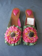 Goody Goody flower Slip on Heels shoes Size 7   #5