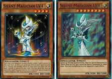 Silent Magician LV8 Ultra** +  Silent Magician LV4 1st YUGIOh