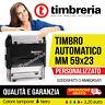 TIMBRO mm 59x23 TIMBRO AUTOINCHIOSTRANTE AUTOMATICO PERSONALIZZATO - con logo