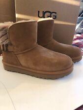 Nwt Ugg Australia Women's Adria Boots  US 6 EU 36 Tan Short Warm Uggs