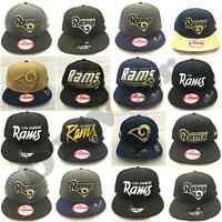 New Era Los Angeles Rams 9Fifty Snapback Hat Cap NFL