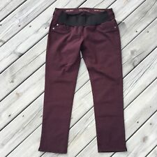 NWT DL1961 Maternity Angel Ruby Mid-Rise Skinny Ankle Crop Stretch Jeans 31