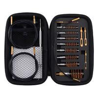 Gun Cleaning Kit .17 .22/.223/5.56MM .243 .280 .30  MultiCaliber Brushes in Bag