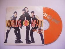 Worlds Apart / You said (remix 97) - cd single
