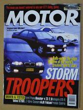 Motor Aug 1997 BMW M3 & Z3, Mazda RX-7, Subaru Impreza WRX, Hunwick Hallam X1R