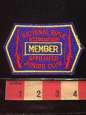 Vtg NRA Gun Member Patch ~ National Rifle Association Affiliated Junior Club 68Y