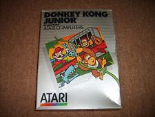 DONKEY KONG JUNIOR JR ATARI 400 800 XL CARTRIDGE BOXED COMPLETE TESTED WORKING