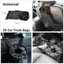 2Pcs Travelling Home Car Trash Bags Washable Leakproof Eco-Friendly Garbage Bags