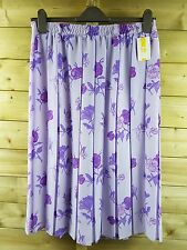 FLORAL PLEATED SKIRT SIZE 16 BNWT #517 *9