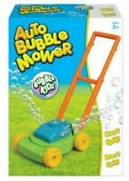 Auto Bubble Blowing Toddlers Summer Garden Toy Gift Lawn Mower Blower Machine