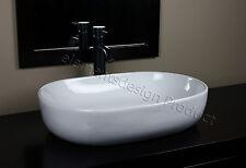 Bathroom Ceramic Vessel Sink With Oil Rubbed bronze  Faucet & Drain 7090E03