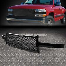 FOR 99-06 CHEVY SILVERADO/TAHOE FRONT UPPER BUMPER GLOSS ABS MESH GRILLE/FRAME