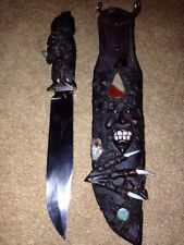 """Exotic 8"""" S.S. Blade With Sheath"""