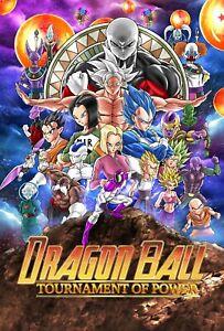Dragon Ball Super Tournament of Power Poster (Exclusive Art) Goku - NEW - USA