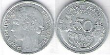 """Pièce de monnaie de """"FRANCE"""" 50 centimes (1946)"""